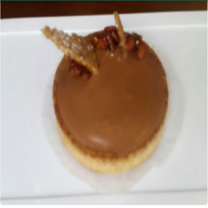 double choclate tart